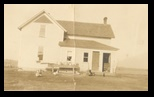 This is the original Knuth Homestean in Augusta Wisconsin about 1910 It may actually be earlier because there are no trees - the trees on the property in 2010 are at least 100 years old